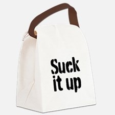 Suck it up Canvas Lunch Bag