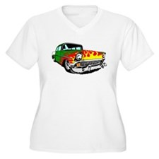 This 56 Bel air is on fire! Plus Size T-Shirt