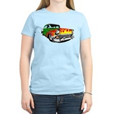This 56 Bel air is on fire! T-Shirt