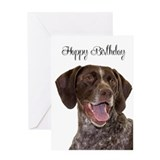 German shorthaired pointer Greeting Cards