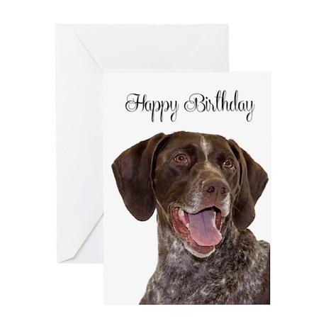 Pointer Birthday Card