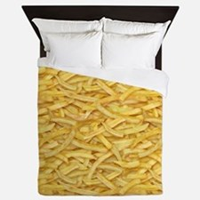 Free Fries Queen Duvet
