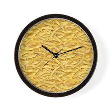 Free Fries Wall Clock