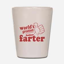 Worlds Greatest Farter Shot Glass