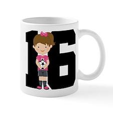 Soccer Sports Number 16 Mug