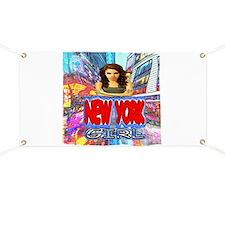 new york city girl Banner