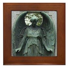 Weeping Angel Framed Tile