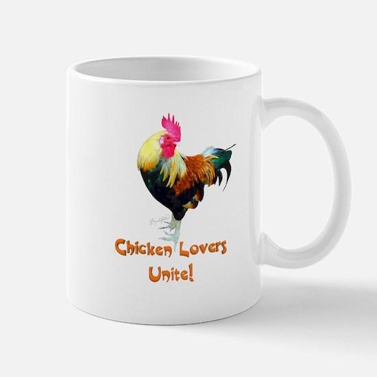 Chicken Lovers Unite! Mug