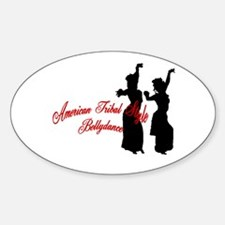 ATS Script Sisters Oval Decal