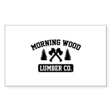 Morning Wood Lumber Co. Decal