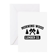 Morning Wood Lumber Co. Greeting Cards (Pk of 20)