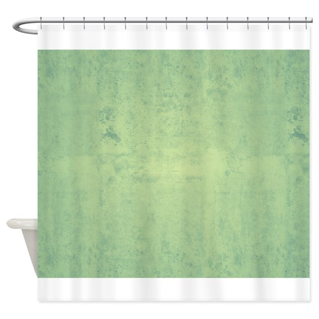 Green vintage pattern shower curtain by ibeleiveimages - Green curtain patterns ...