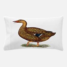 Mallard Duck Hen Pillow Case