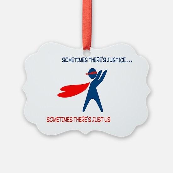 CASA Hero Justice Ornament