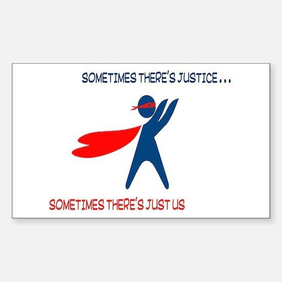 CASA Hero Justice Decal