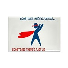 CASA Hero Justice Rectangle Magnet