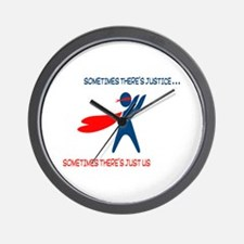 CASA Hero Justice Wall Clock