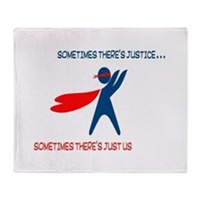CASA Hero Justice Throw Blanket