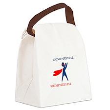CASA Hero Justice Canvas Lunch Bag