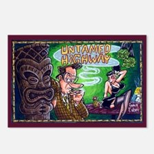 Untamed Highway's Tiki Postcards (Package of 8)