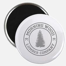 "Morning Wood Lumber Co. 2.25"" Magnet (10 pack)"