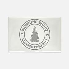 Morning Wood Lumber Co. Rectangle Magnet