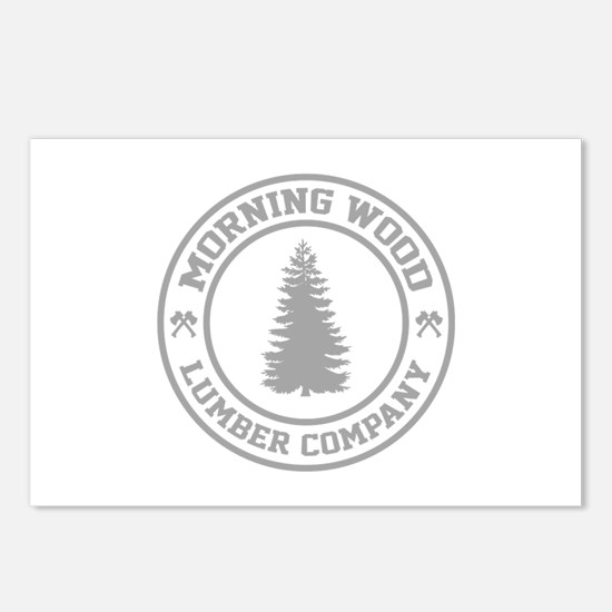 Morning Wood Lumber Co. Postcards (Package of 8)
