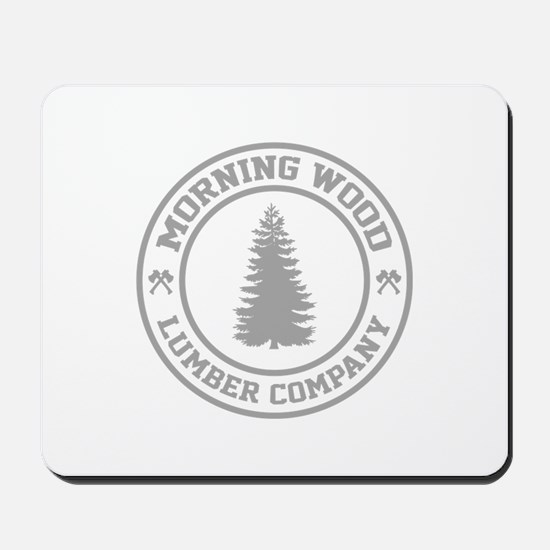 Morning Wood Lumber Co. Mousepad