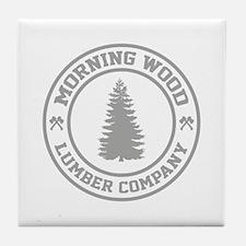 Morning Wood Lumber Co. Tile Coaster