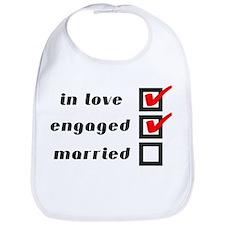 Engaged Bib