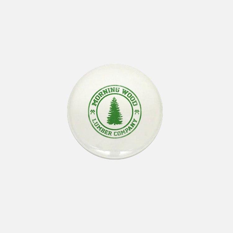 Morning Wood Lumber Co. Mini Button