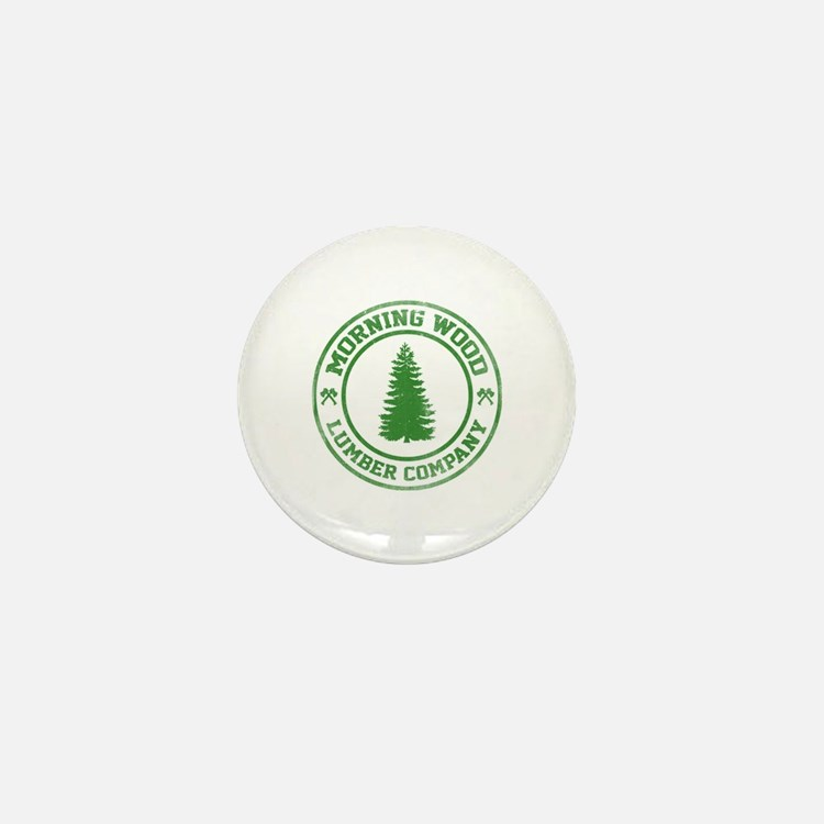 Morning Wood Lumber Co. Mini Button (10 pack)