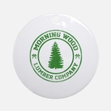 Morning Wood Lumber Co. Ornament (Round)