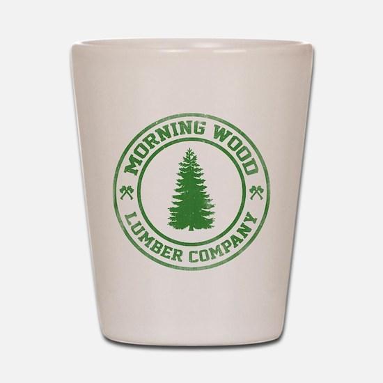 Morning Wood Lumber Co. Shot Glass