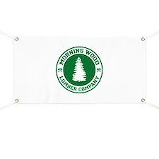 Morning Wood Lumber Co. Banner