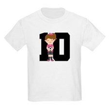 Soccer Sports Number 10 T-Shirt