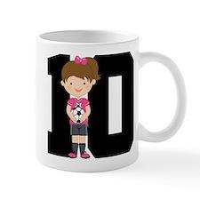 Soccer Sports Number 10 Mug
