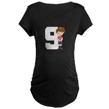 Soccer Sports Number 9 T-Shirt