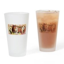 The Paddock in Pastel Drinking Glass