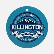 Killington Ice Ornament (Round)