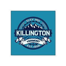 "Killington Ice Square Sticker 3"" x 3"""