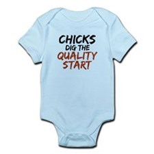 Chicks Dig The Quality Start Infant Bodysuit