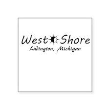 West Shore - Ludington Sticker