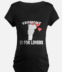 Vermont Is For Lovers Maternity T-Shirt