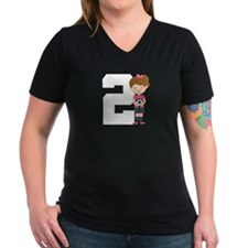 Soccer Sports Number 2 Shirt