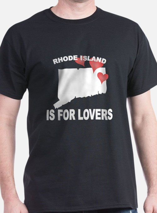 Rhode island Is For Lovers T-Shirt