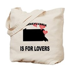 Pennsylvania Is For Lovers Tote Bag