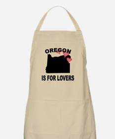 Oregon Is For Lovers Apron
