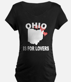 Ohio Is For Lovers Maternity T-Shirt