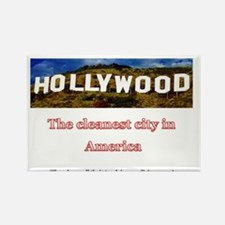 Hooray for Hollywood! Rectangle Magnet